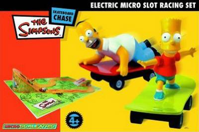 The Simpsons Skateboard Chase