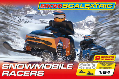 Snowmobile Racers